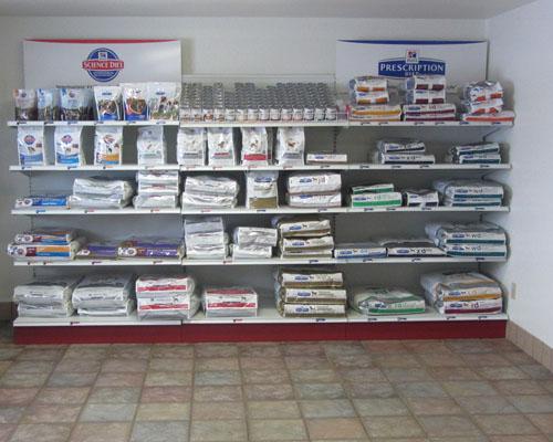 Prescription and non-prescription food available